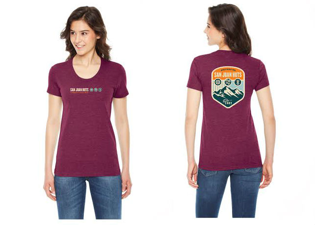Women's Burgundy T-Shirt